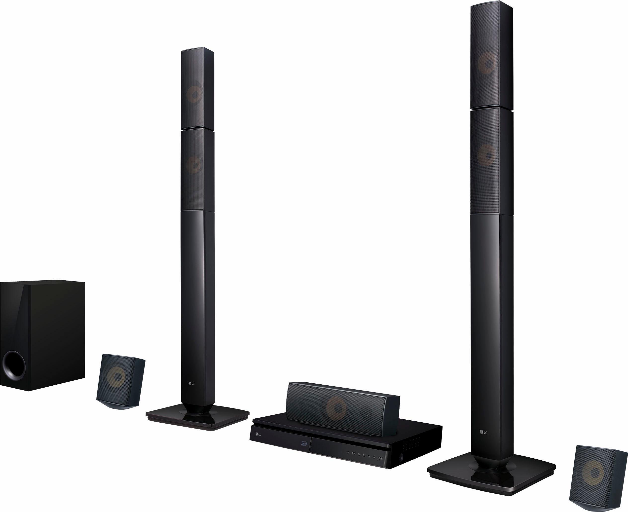 Op zoek naar een LG LHB645N 5.1-thuisbioscoop (3D-blu-ray-speler, Hi-Res, MultiRoom, 1.000 W, Bluetooth, Spotify)? Koop online bij OTTO