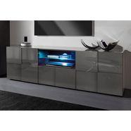lc tv-meubel »dama«, breedte 181 cm grijs