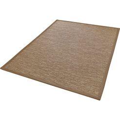 outdoorkleed, »naturino effekt«, dekowe, rechthoekig, hoogte 10 mm, machinaal geweven beige