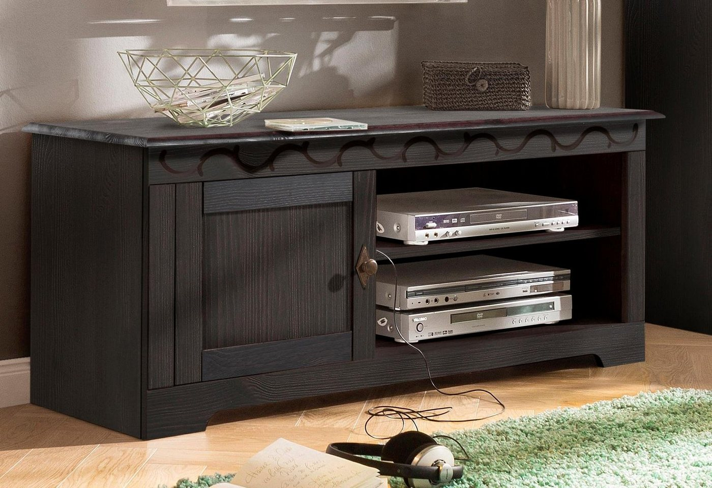 HOME AFFAIRE TV-meubel Laura, breedte 125 cm