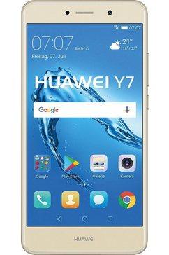 Y7 Dual SIM-smartphone, 14 cm (5,5 inch) display, LTE (4G), Android 7.0, 12,0 megapixel
