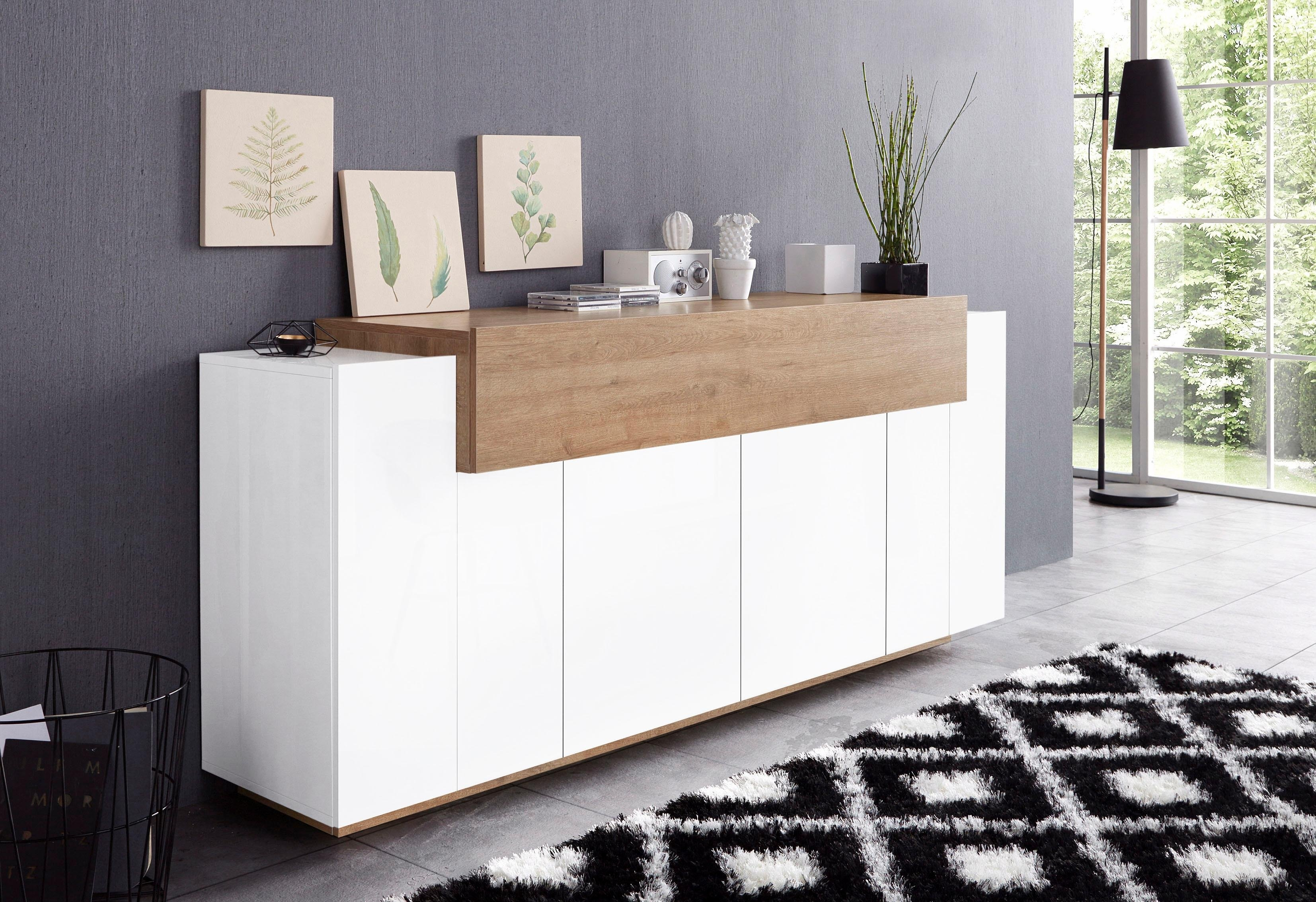 tecnos dressoir asia breedte 200 cm online shop otto. Black Bedroom Furniture Sets. Home Design Ideas