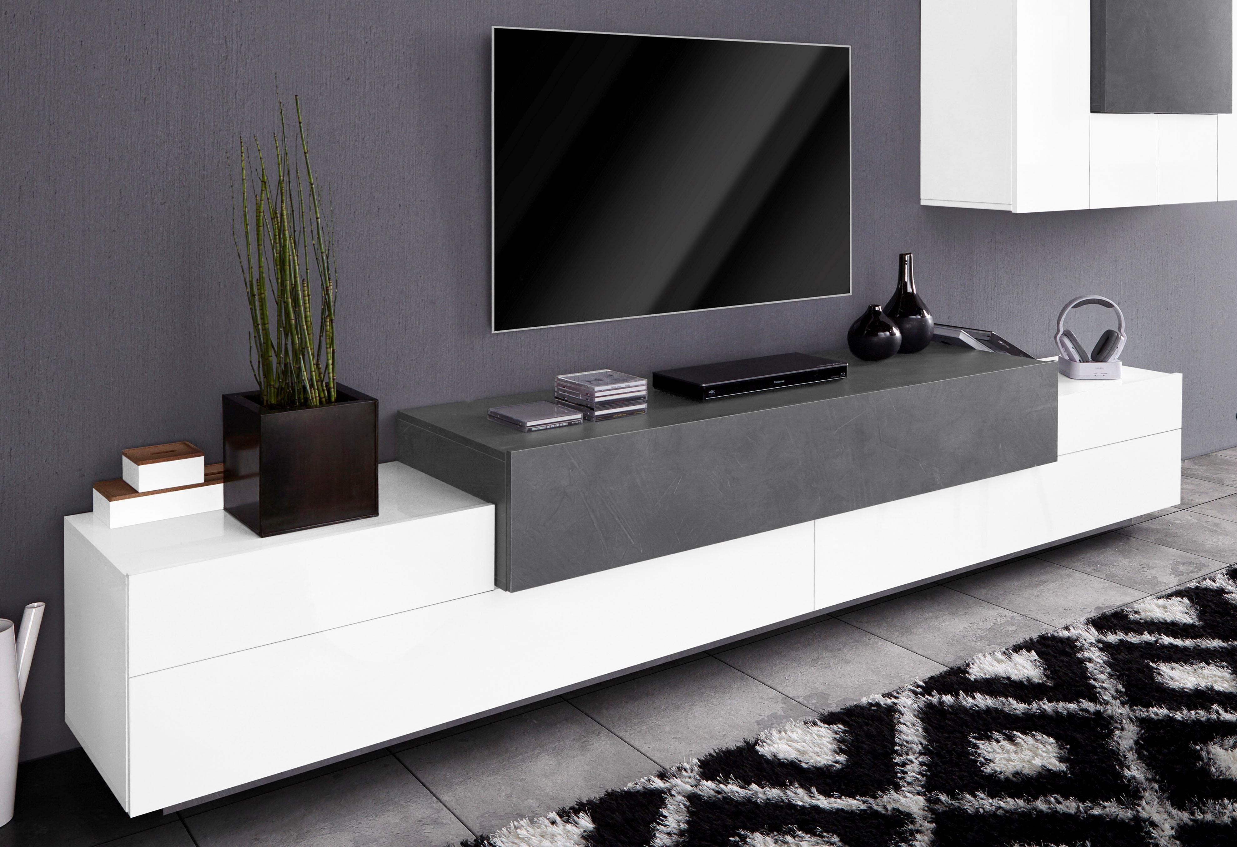 tecnos tv meubel asia breedte 270 cm online verkrijgbaar otto. Black Bedroom Furniture Sets. Home Design Ideas