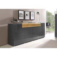 dressoir »toledo«, breedte 208 cm grijs