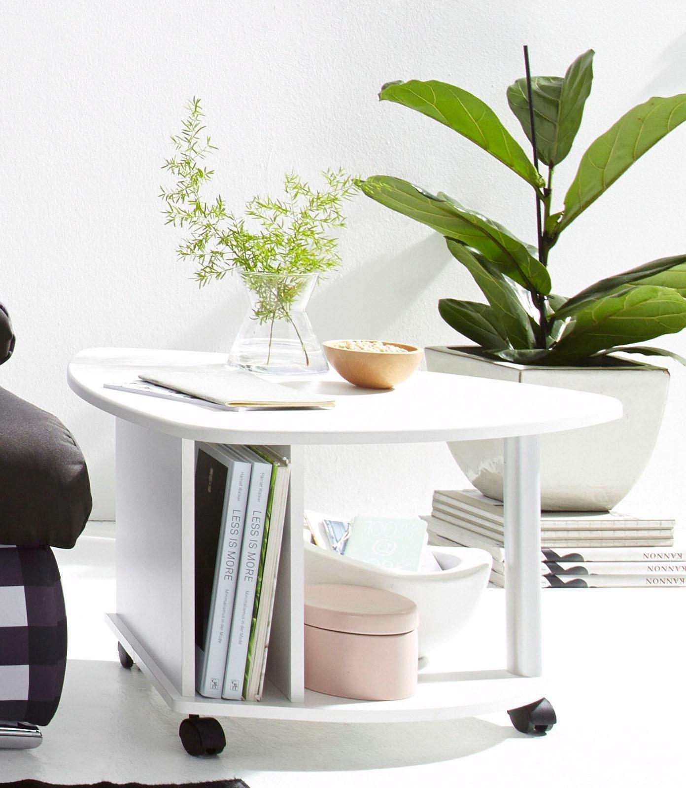 Op zoek naar een PRO Line salontafel op wieltjes, met plank en krantenvak? Koop online bij OTTO