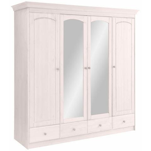 HOME AFFAIRE garderobekast Sofia, naar keuze als 2-, 3-, 4-, of 5-deurs, in 2 kleuren