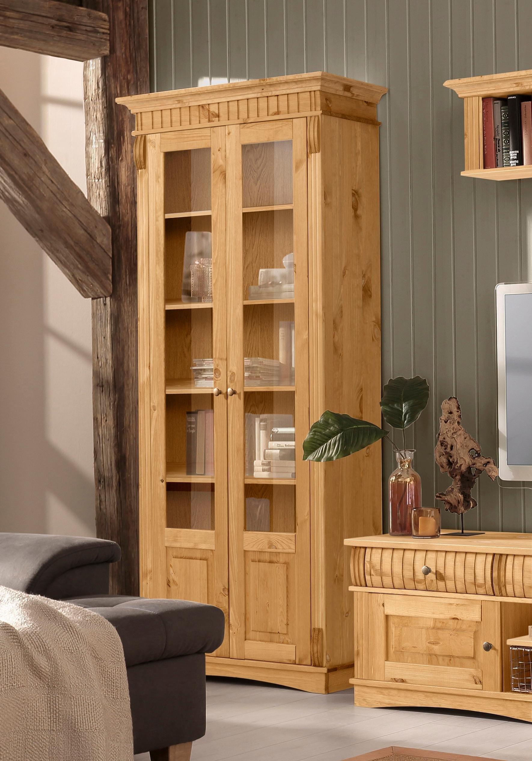 Op zoek naar een Home Affaire vitrinekast »Teresa«, met 2 glasdeuren, hoogte 193 cm? Koop online bij OTTO