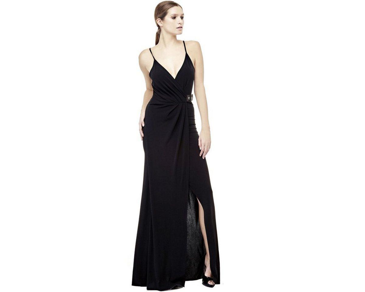 Guess lange jurk met gesp zwart