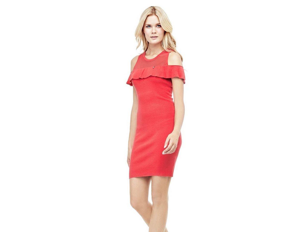 Guess jurk met hangende bandjes rood