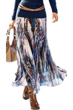 création l rok met natuurmotieven gedessineerd multicolor