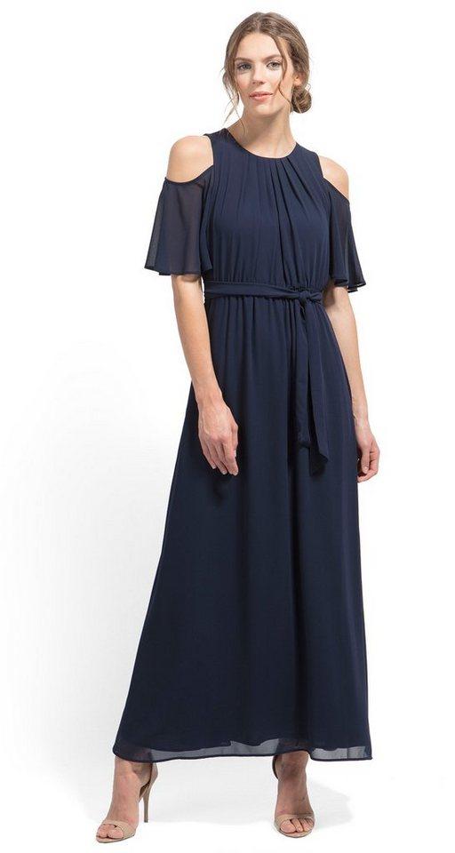 NU 21% KORTING: Tom Tailor jurk Offshoulderjurk van Naomi Campbell blauw