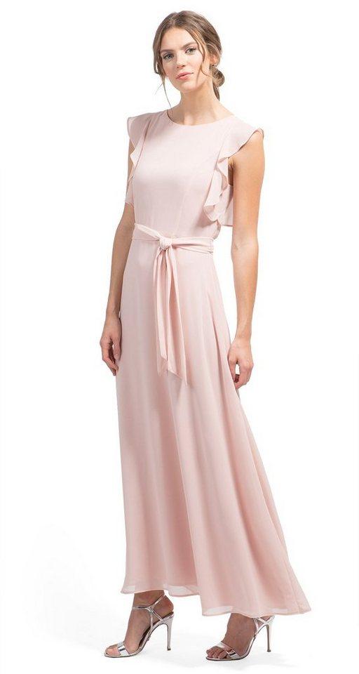 NU 21% KORTING: Tom Tailor jurk Naomi Campbell-jurk met volant roze