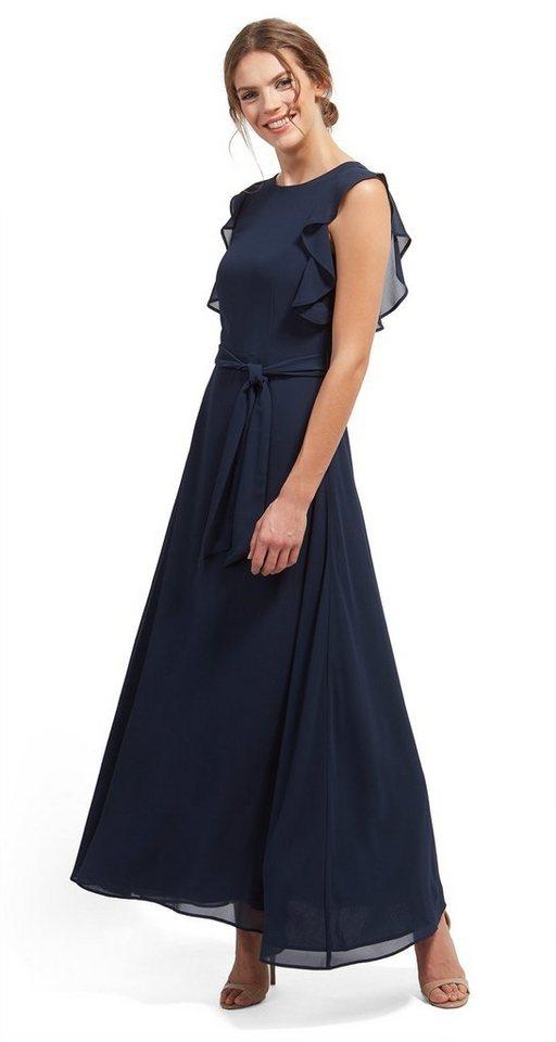 Tom Tailor jurk »Naomi Campbell-jurk met volant« blauw