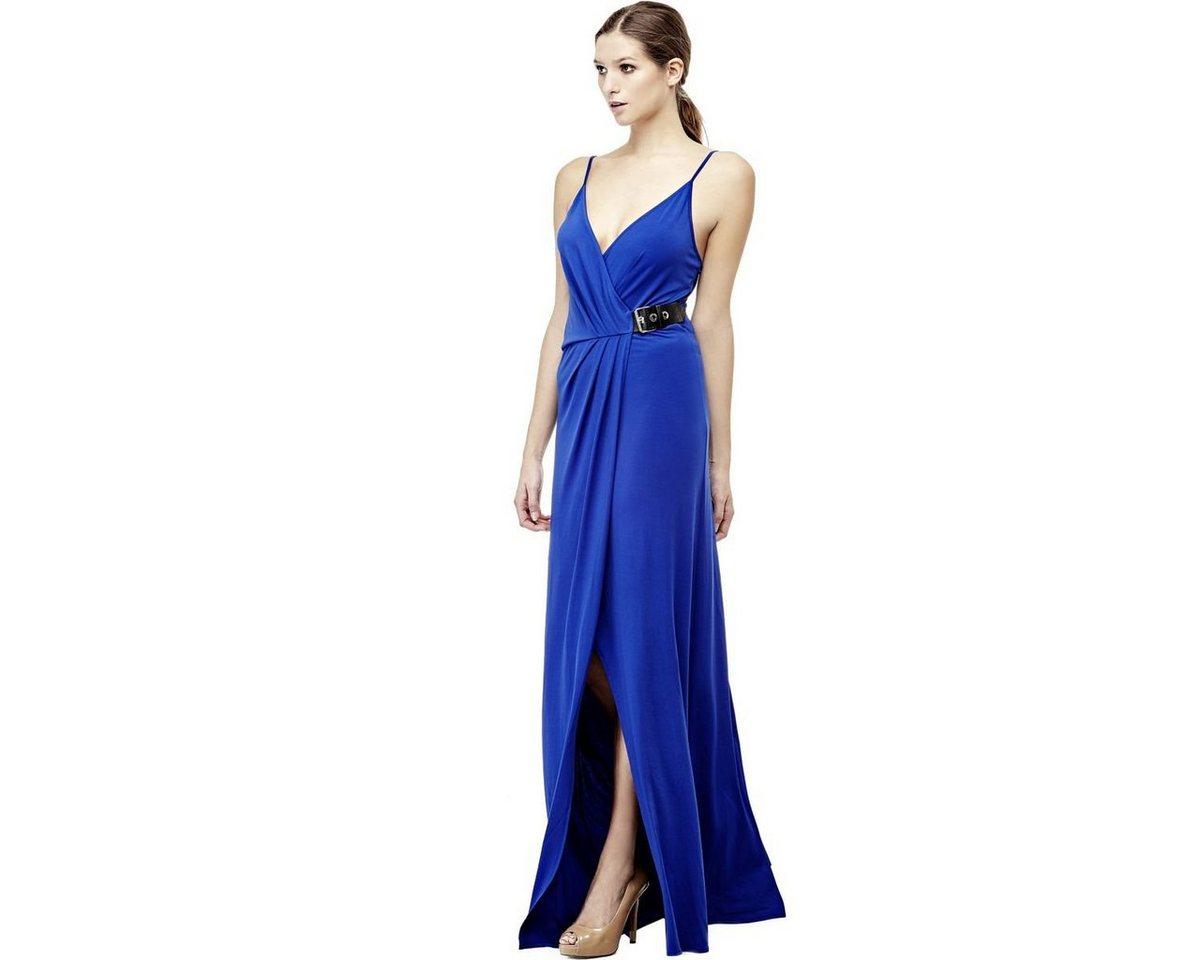 Guess lange jurk met gesp multicolor