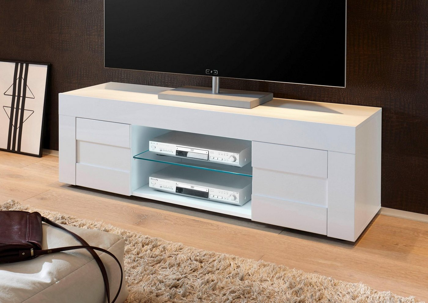 LC EASY TV-meubel, breedte 138 cm
