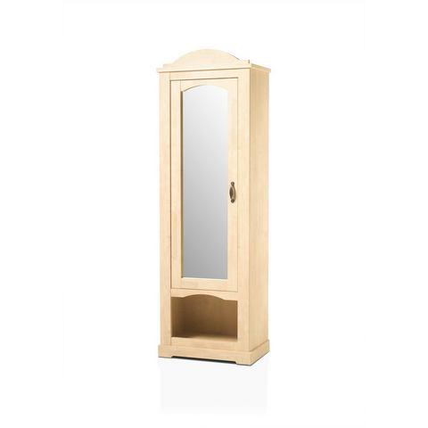 Home affaire garderobekast 'Arosa', met spiegel, breedte 66 cm