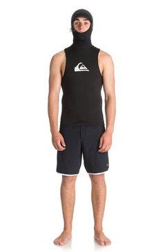 quiksilver wetsuit tanktop met capuchon »syncro 2mm v2« zwart