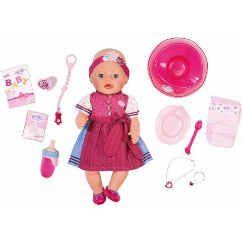 ZAPF CREATION pop met accessoires, 'BABY born® Interactive Dirndledition'