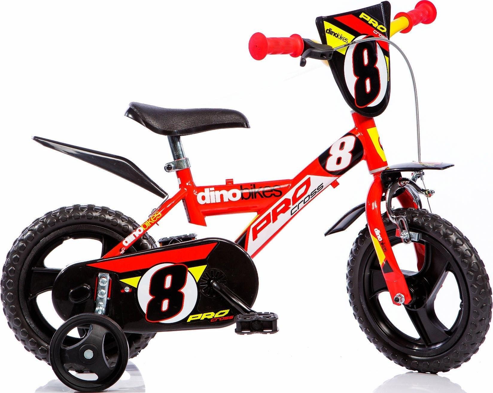 Dino kinderfiets voor jongen, 12 inch, 1 versnelling, »Sporty« in de webshop van OTTO kopen