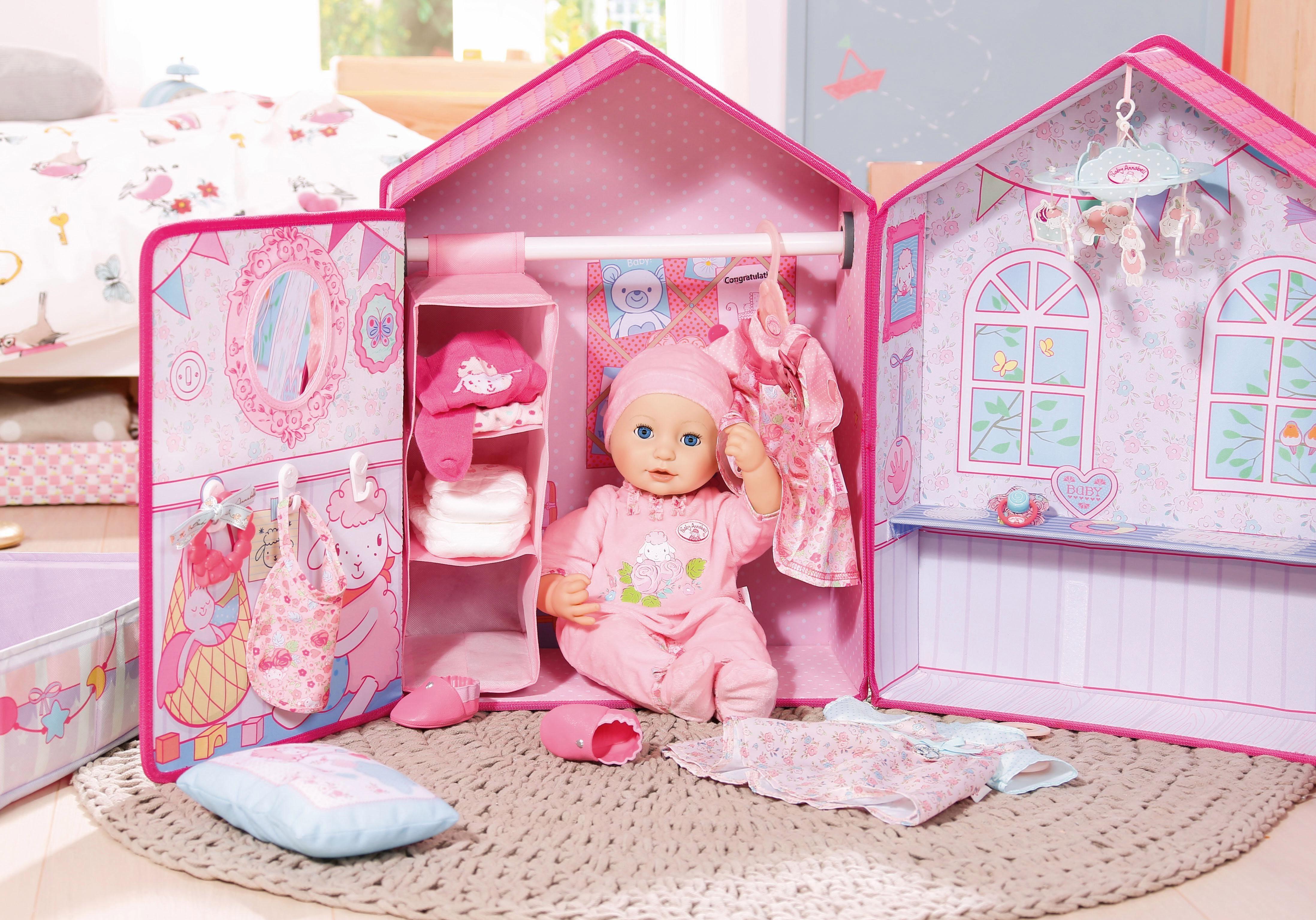 Playmobil Dollhouse Slaapkamer : Zapf creation poppenaccessoire baby annabell slaapkamer in de