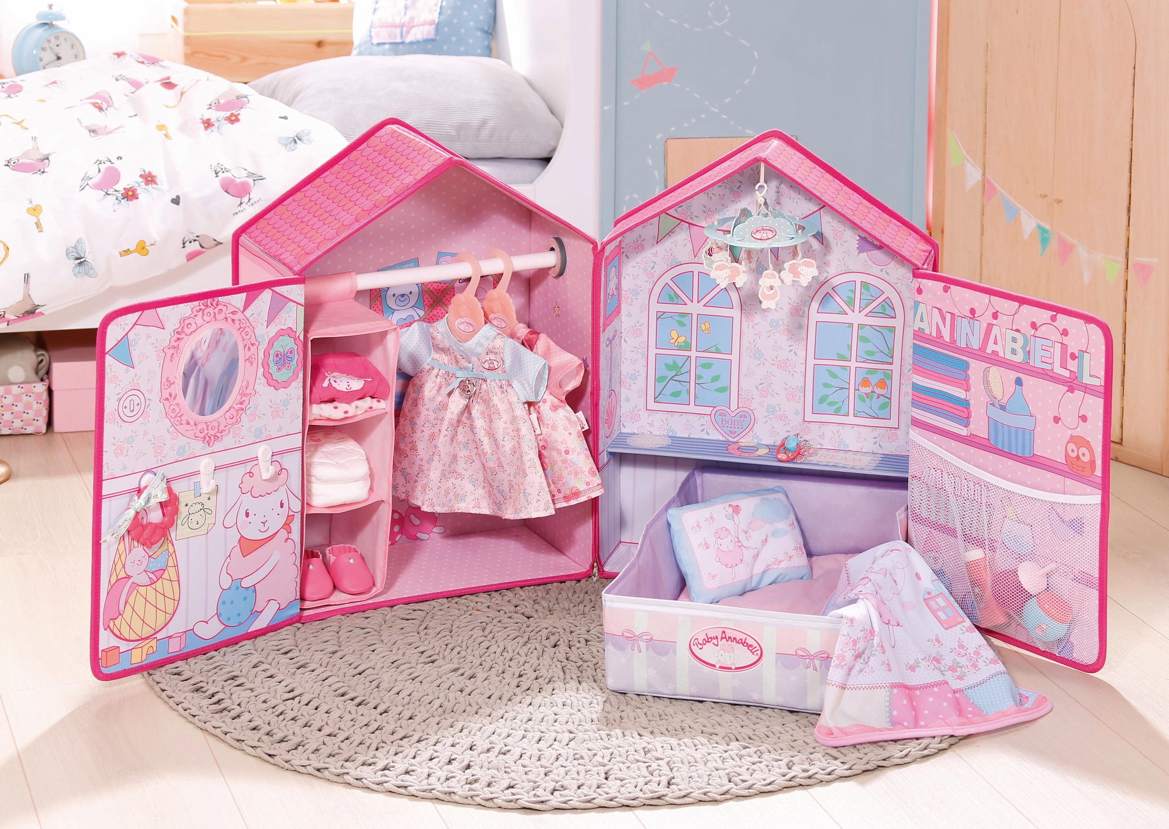 Baby Slaapkamer Accessoires : Zapf creation poppenaccessoire baby annabell slaapkamer in de