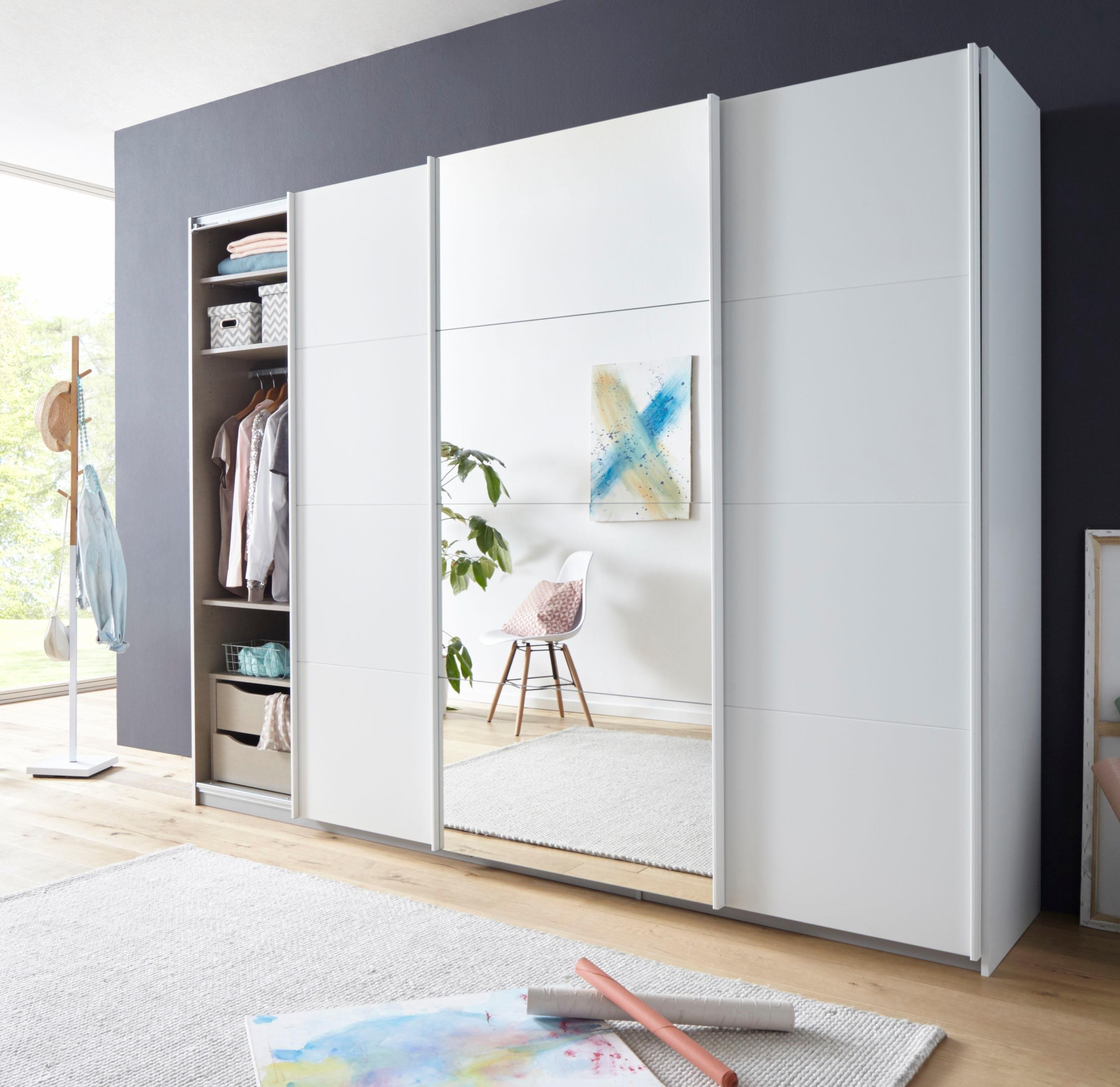 RAUCH zweefdeurkast »Tubona«, inclusief lade-inzet en losse planken nu online kopen bij OTTO