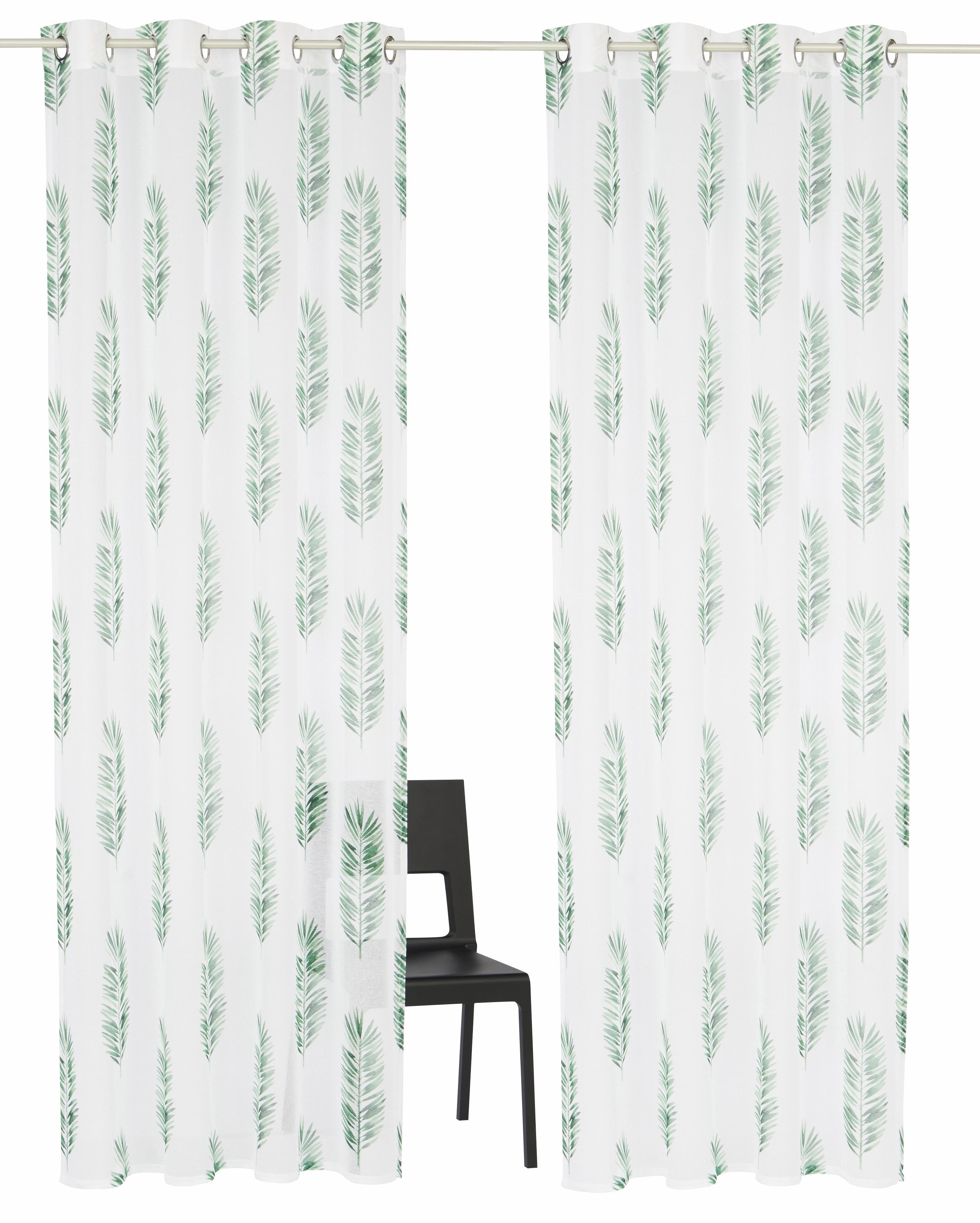 Gordijn, Home affaire Collection, »Terni«, met ringen (set van 2 ...
