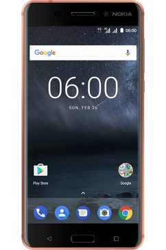 6 Dual SIM-smartphone, 14 cm (5,5 inch) display, LTE (4G), Android 7.0 (Nougat)