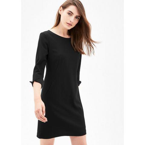 s.Oliver BLACK LABEL Eenvoudige, elegante crêpe jurk