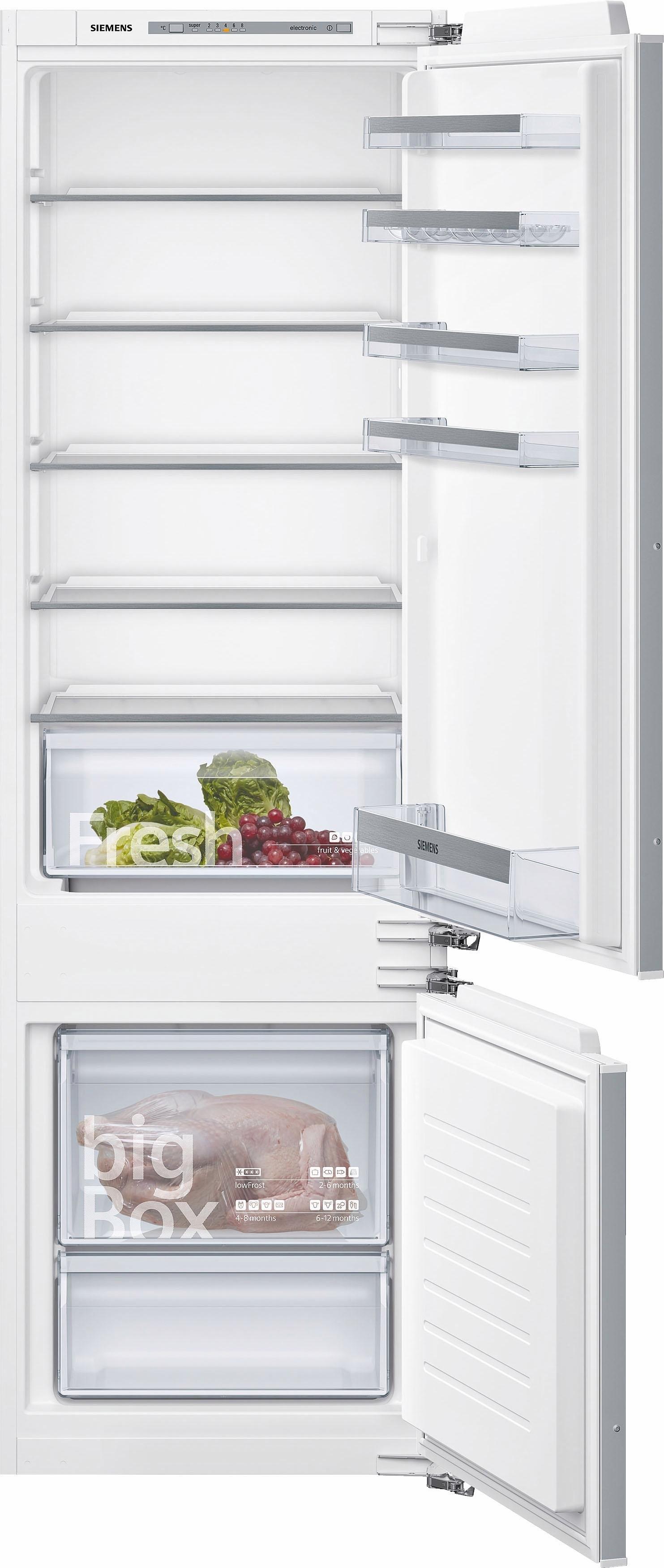 Siemens volledig integreerbare inbouw-koel-vriescombinatie KI87VVS30, A++, 177,2 cm hoog bij OTTO online kopen