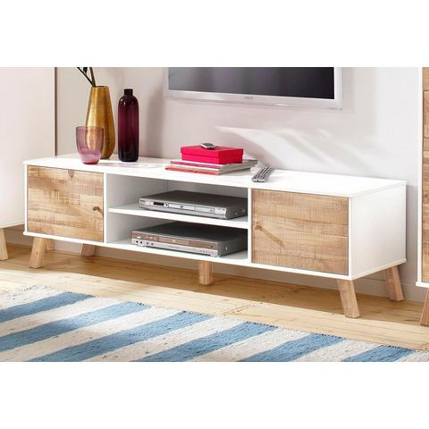 HOME AFFAIRE TV-meubel Rondo, breedte 160 cm , met 2 open vakken