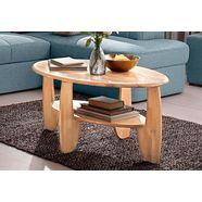 premium collection by home affaire salontafel van massief hout wildeiken of beukenkernhout fsc-gecertificeerd bruin