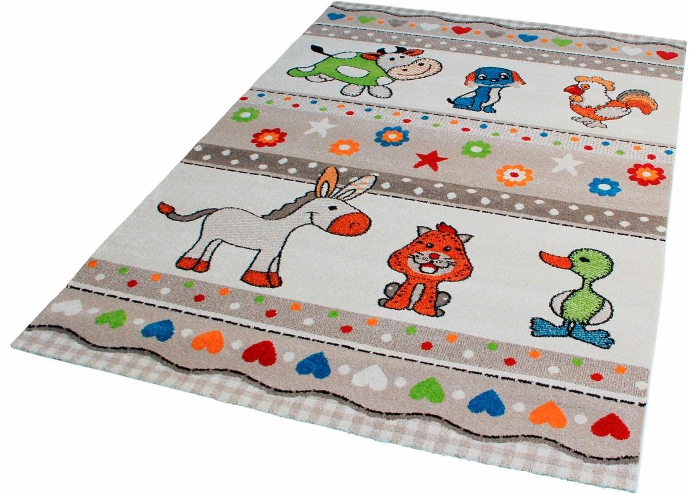 Sanat Hali Vloerkleed kinderkamer, »Rhapsody Kids1519«, Impression, rechthoekig, 13 mm hoog, machinaal geweven goedkoop op otto.nl kopen