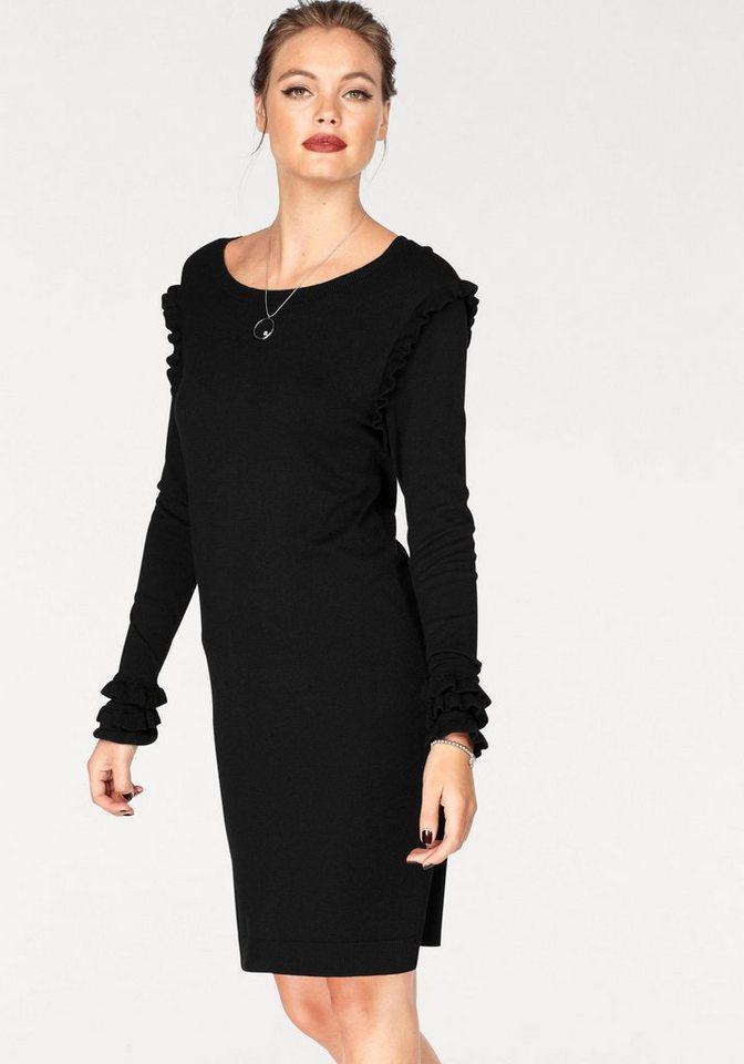 Vero Moda tricotjurk COLUSA zwart
