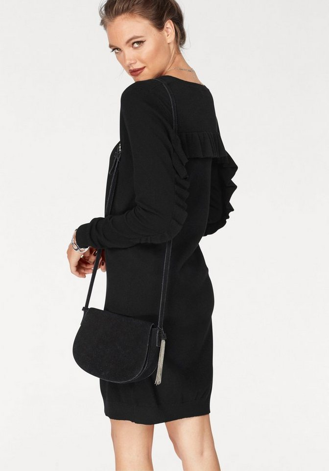 Vero Moda tricotjurk SKY zwart
