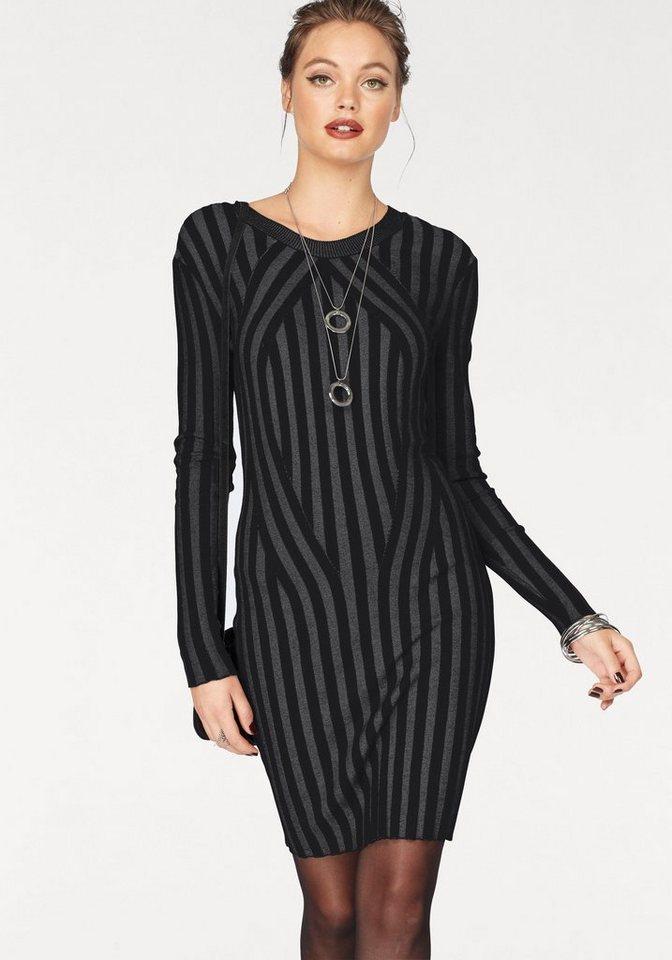 Vero Moda tricotjurk AUDREY zwart