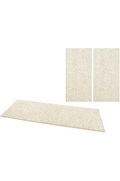 bt carpet set slaapkamerkleedjes wolly 2 wol-look, high-low effect beige