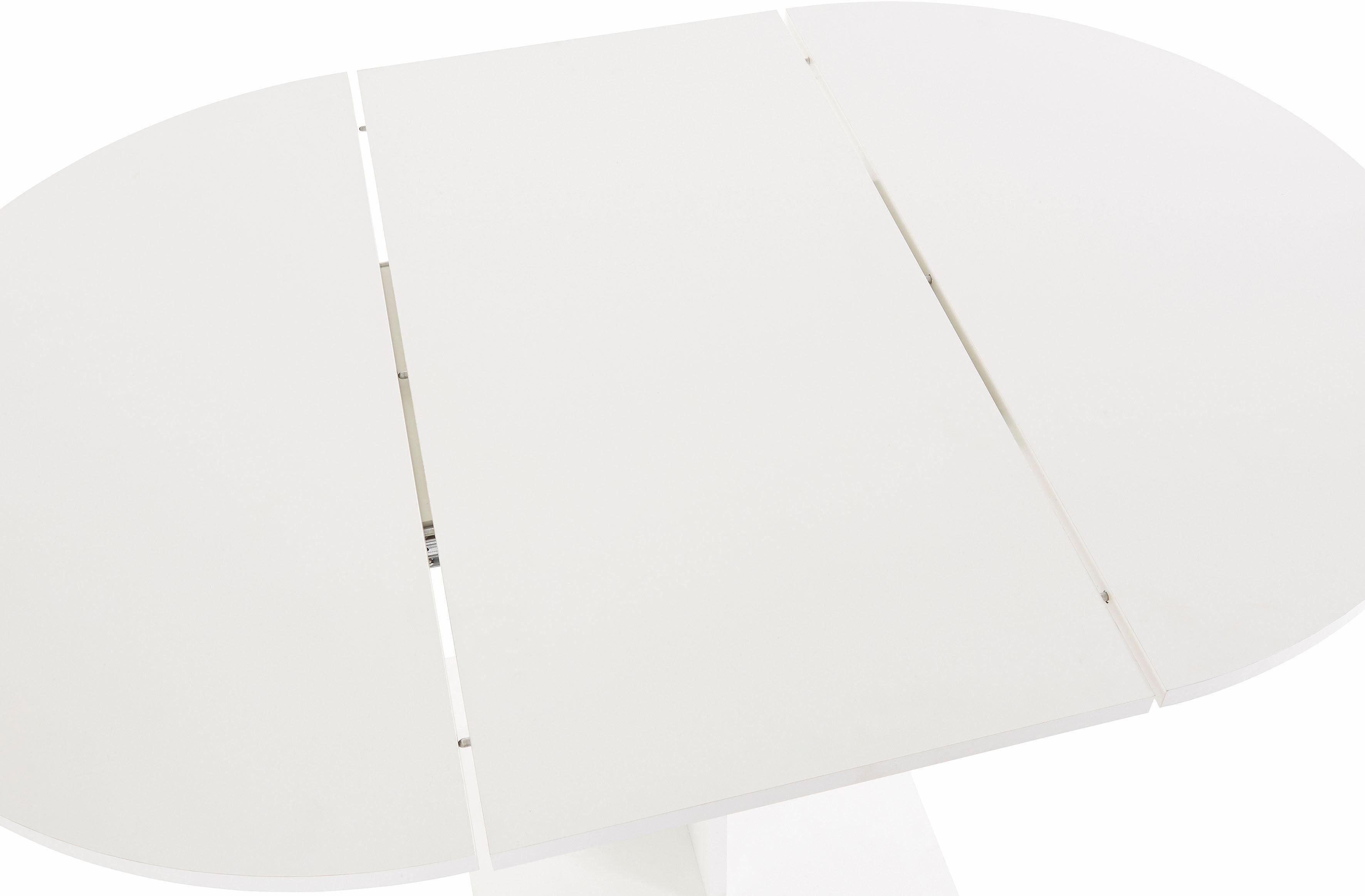 Eettafel rond diameter cm met uittrekfunctie online kopen otto