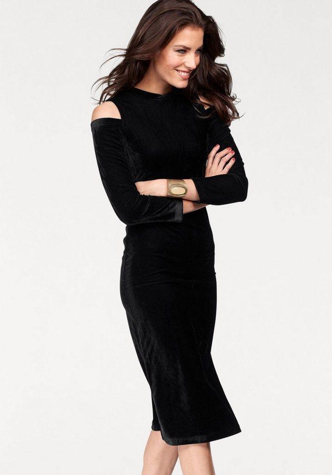Aniston fluwelen jurk zwart
