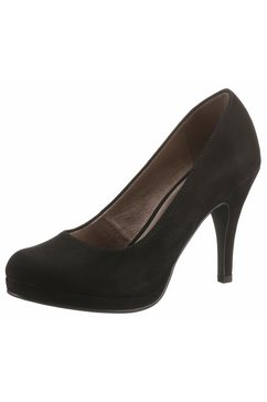 tamaris highheel-pumps »taggia« zwart
