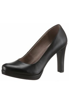 tamaris highheel-pumps zwart