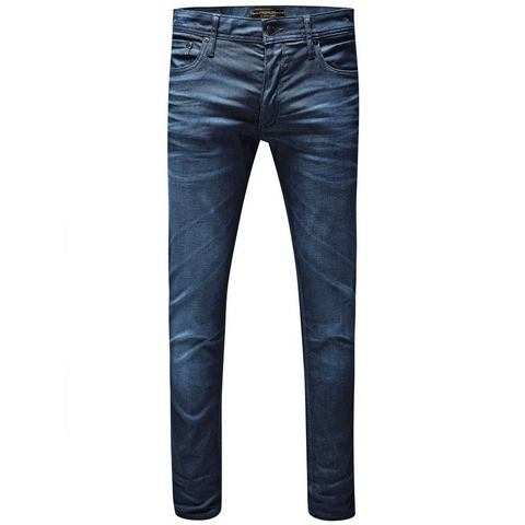 Jack & Jones TIM Slim fit jeans Blauw