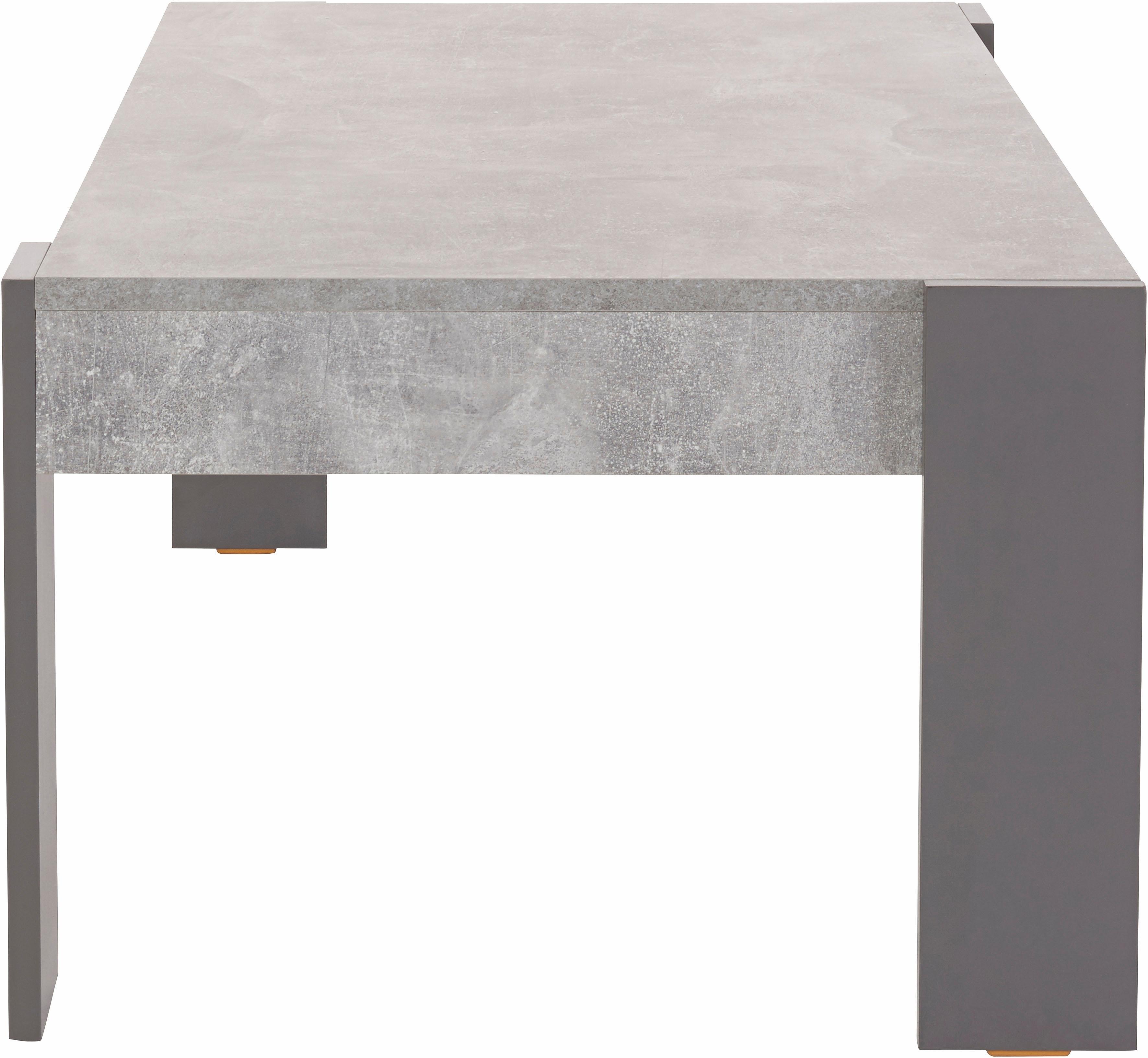Betonlook Salon Tafel.Salontafel In Moderne Beton Look