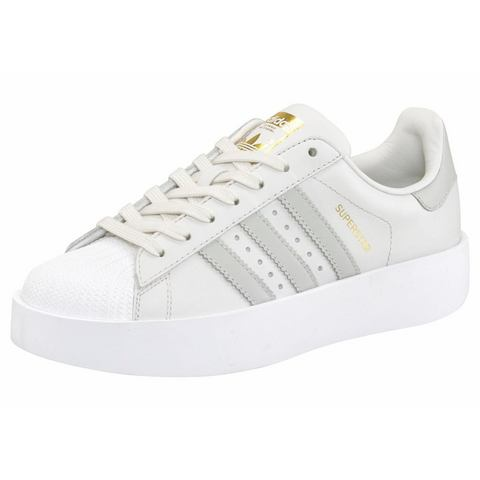 adidas-sneaker Superstar Bold in grijs