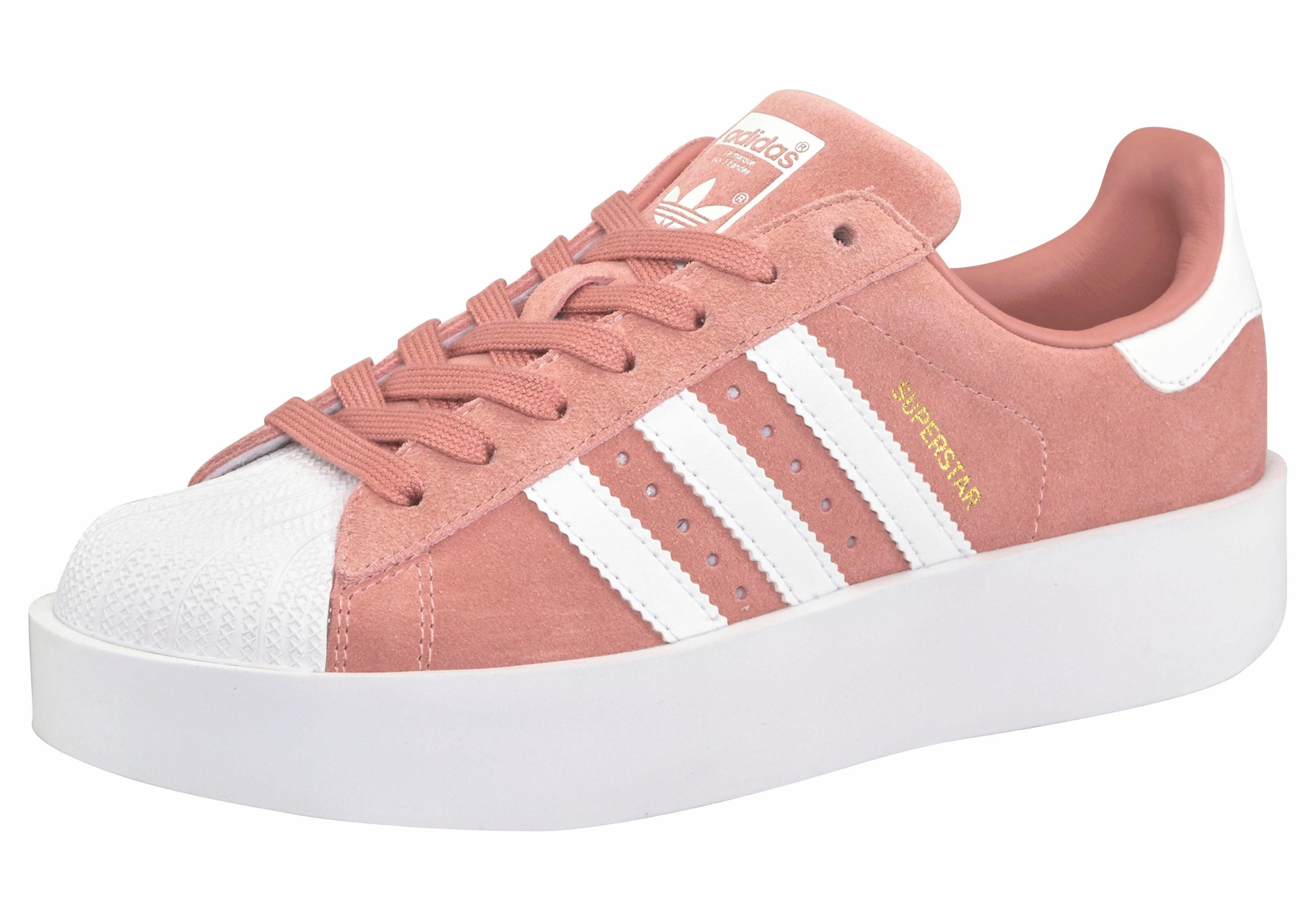 adidas schoenen superstar roze