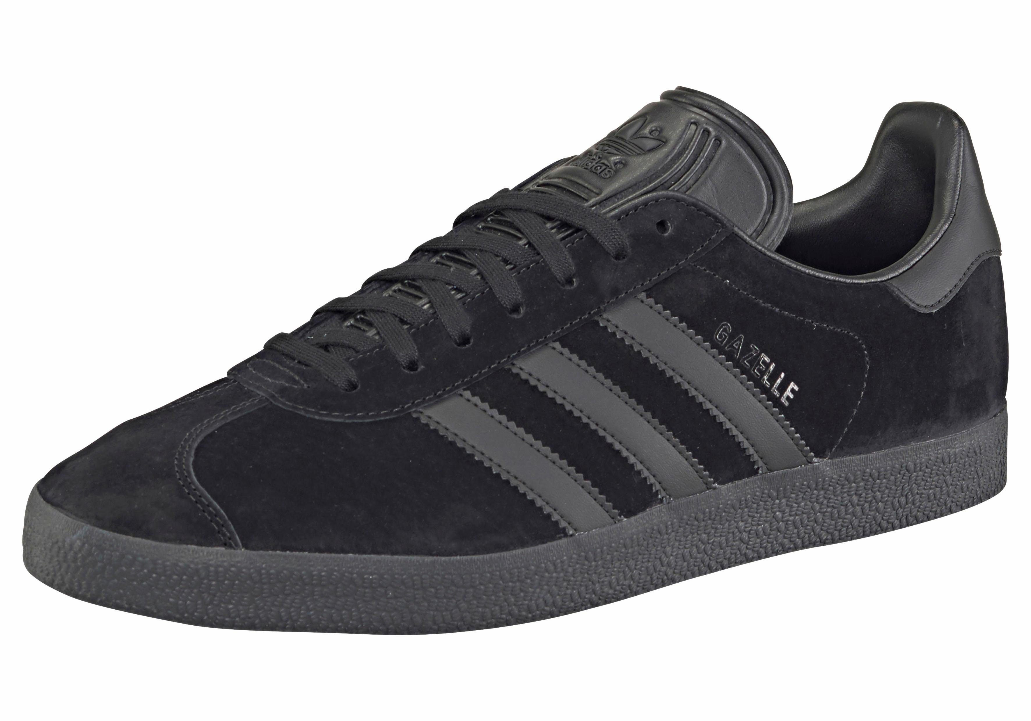 adidas originals gazelle dames zwart