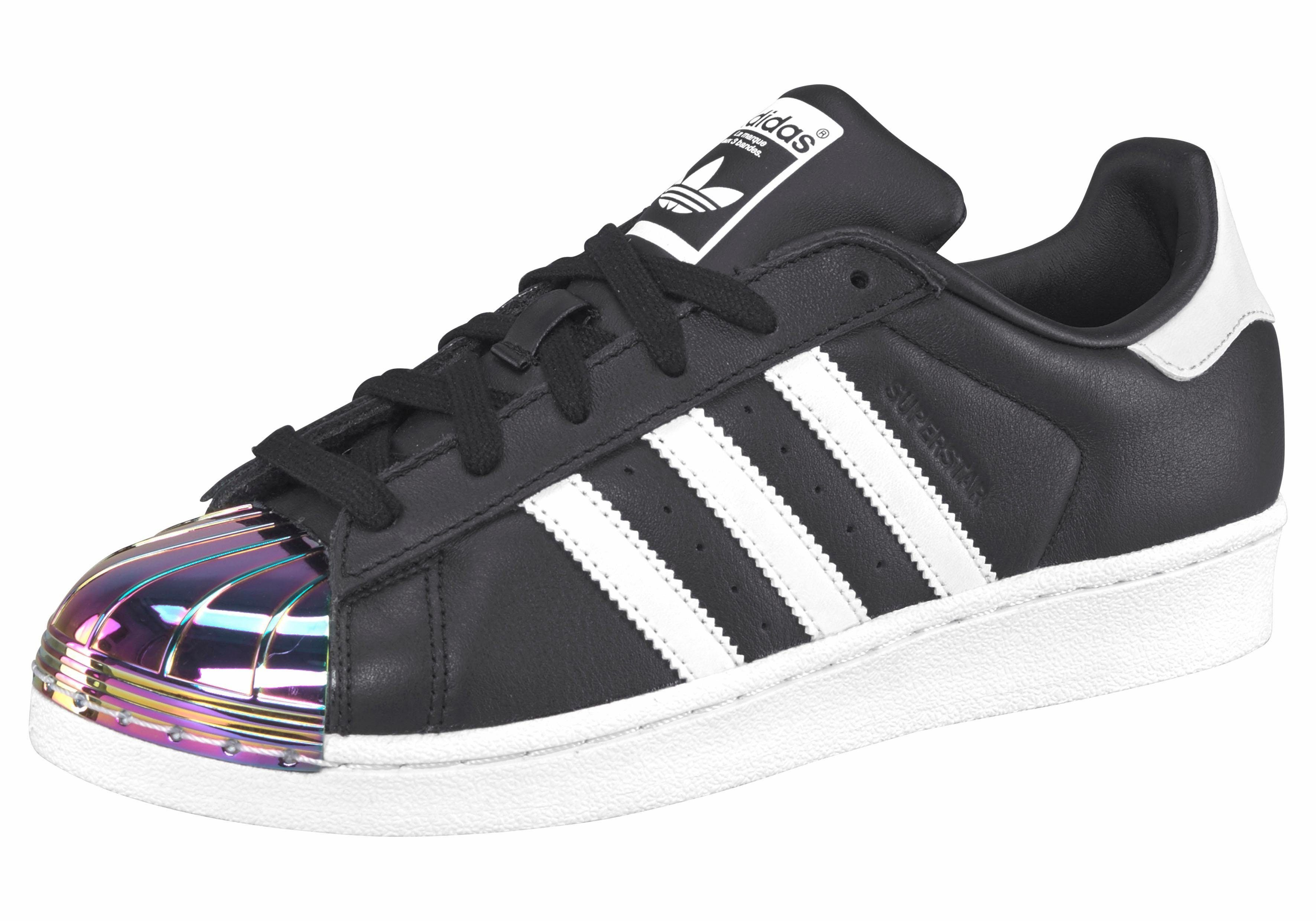 zwarte adidas sneakers superstar w