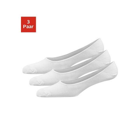 Onzichtbare sokjes wit