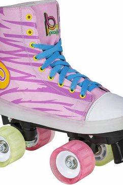 playlife junior-rolschaatsen met verlichtingsfunctie, »lunatic« roze