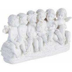 home affaire engelfiguur »engel« wit
